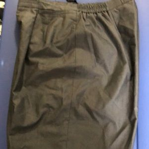 Talbots Classic Grey Dress Fully Lined Pants